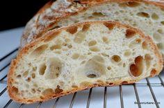 Pâine cu maia naturală rețeta simplă de pâine fără drojdie   Savori Urbane Breakfast Recipes, Deserts, Food And Drink, Bread, Cookies, Cake, Healthy Food, Biscuits, Pastel