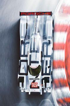 Porsche 919 como siempre el diseño gráfico en los autos de carreras es parte de mi gusto por los mismos y este 919 es una maravilla