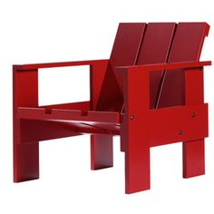 Via Bonluxat | Gerrit Rietveld Crate Chair (1934)