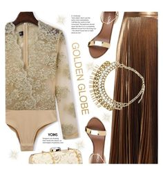 golden globe by meyli-meyli on Polyvore featuring polyvore fashion style A.L.C. clothing