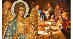 Με ποιον τρόπο ο Άγγελος του σπιτιού μας, προστατεύει εμάς και την οικογένεια μας , τι πρέπει να κάν... Orthodox Prayers, Faith In God, Religion, Blessed, Christian, Painting, Art, Vintage Ideas, Angels