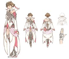White Mage Female from Final Fantasy XIV: Stormblood