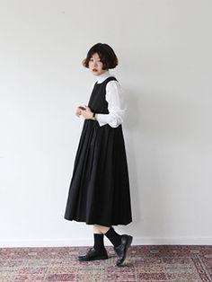 ファッション ファッション in 2020 Korean Girl Fashion, Ulzzang Fashion, Japanese Fashion, Asian Fashion, Classy Outfits, Vintage Outfits, Cool Outfits, Vintage Fashion, Modest Fashion
