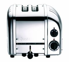 Dualit New Generation Vario Bread Toaster - Chrome at Kitchen Universe. The Dualit Vario toaster combines simplicity and sophistication perfectly. Designed for commercial use the toaster is hand assembled in England and built to last. Bagels, Dualit Toaster, Buffet, Smeg, Specialty Appliances, Cuisines Design, Small Kitchen Appliances, Rolls Royce, Cookware