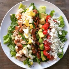Detoxed Cobb salad