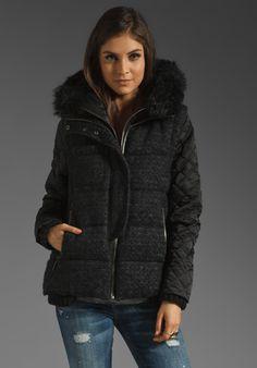 ASHLEY B Down Jacket in Black at Revolve Clothing - Free Shipping!