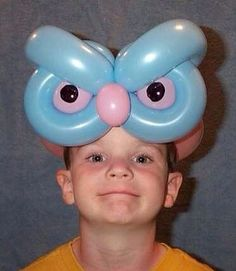 Источник интернет Owl Balloons, Balloon Hat, Balloon Crafts, Balloons And More, Baby Shower Balloons, Balloon Decorations, The Balloon, Animal Balloons, Balloon Ideas