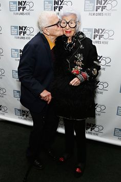 Iris Apfel & Husband Carl