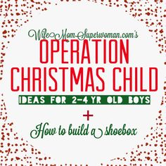 Words really can't describe how much I LOVE Operation Christmas Child(a.k.a. OCC). It's a movement close to my heart, and one that I've supported for many years. Please, please, PLEASE read this article and/or pass it along to anyone you know would be interested in touching a child's life. Since 1993, OCC has delivered more…