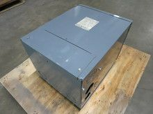 GE 25 kVA 600 to 120/240 9T21B9114 Single Phase Wall Mount Transformer V. See more pictures details at http://ift.tt/1X19fQf
