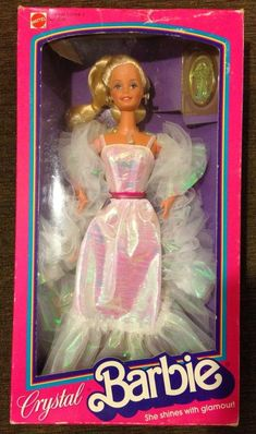 Toys of the '80s: I totally had this Barbie!!!!!!