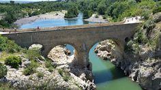 Pont du Diable:  Amazing gorges for adventure swims and jumps. Close to exquisite St-Guilhem-le-Désert and its famous caves.