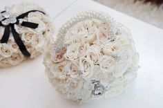 Couture Flower Girl Purse by Kesh Events. Photo: Carasco Photogrpahy