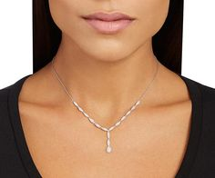 Swarovski Clear Crystal EMMA NECKLACE Medium #5166281 – Zhannel