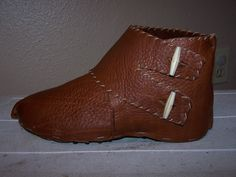 Medieval-looking cleat covers. (ArmorArchive tutorial)