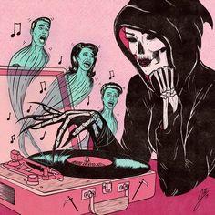 Ghostpastry (ghostpastry) on ImgBB Arte Horror, Horror Art, Vintage Comics, Vintage Art, Arte Punk, Psy Art, Arte Obscura, Vintage Horror, Dope Art