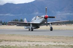 P51 Mustang at Warbird's over Wanaka 2014