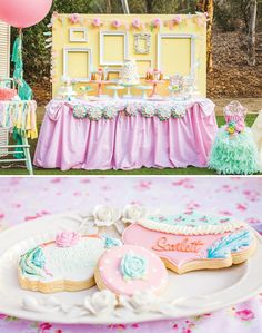 Gorgeous Vintage & Floral Shabby Chic Pow-Wow