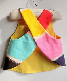 French Style - Reversible Pinafore top or dress - The Montmartre - 6 months to 5Y - BASTILLE DAY SALE. $22.00, via Etsy.
