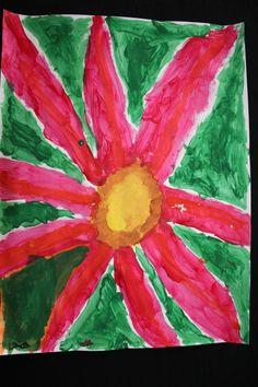 Georgia O'Keeffe Flower by Lillian