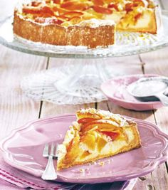 Broskvový koláč s nebeskou chutí marcipánu Vanilla Cake, Pie, Foods, Torte, Food Food, Pastel, Pies, Tart, Cake