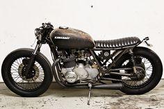 """Les Danois de WrenchMonkees ont passé un coup de ripolin sur leur site  qui nous offre à présent une galerie de """"black bikes"""" époustouflante..."""