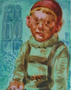 Kunstkabinet Herens: A war child at the Saint Laurence's Church in Rott...