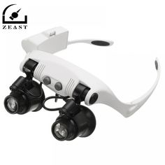 Cool Watches: Buy Online LED Magnifier Double Eye Glasses Loupe Lens Jeweler Watch Repair Measurement with 8 Lens LED lamp Optical Glasses, Eye Glasses, Buy Electronics, Phone Lens, Buy Phones, Soldering Iron, Lampe Led, Aliexpress, Cool Watches