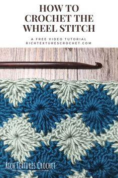 Crochet Stitches Design A free video tutorial on how to crochet this attractive stitch. Crochet in one solid colour or multiple! Crochet Stitches For Beginners, Crochet Stitches Patterns, Stitch Patterns, Knitting Patterns, Gilet Crochet, Crochet Yarn, Free Crochet, Crochet Doilies, Knitting Projects