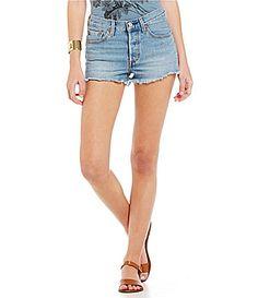 Levis 501 Denim Shorts #Dillards
