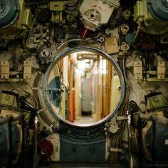 La extraña belleza de un Submarino