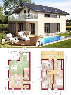 Bungalow grundriss 120 qm grundriss bungalow mit for Hausbau modern satteldach
