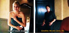 "S5 Ep2 ""True Lies"" - Caroline & Damon"
