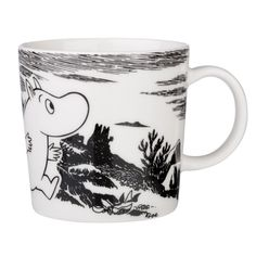 Arabia Finland and Iitala's distinctive mugs and kitchenware are illustrated with classic Finnish characters, including the Moomin collection. Arabia are extremely popular in Finland. Scandinavian Design Centre, Moomin Mugs, Classic Dinnerware, Tove Jansson, Finland, Home Accessories, Marimekko, Ceramics, Adventure