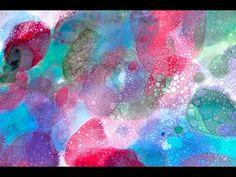 barevné bublinování - YouTube