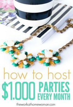 Are you tired of scrimping by in your direct sales business? Here's how you can take to to the next level by hosting $1,000 parties!
