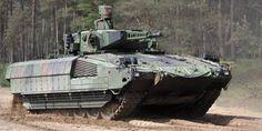 Der Schützenpanzer Puma soll den jahrzehntealten Marder ersetzen. Nur fehlt ihm ein modernes Lenkraketensystem. Aber…