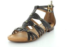 Clarks Artisan Viveca Rome ** Don't get left behind, see this great product : Clarks sandals Rome, Clarks Sandals, Black Gladiator Sandals, Black Leather, Stuff To Buy, Shoes, Trust, Artisan, Style