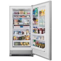 Frigidaire Gallery 20.5 cu. ft. Frost Free Upright Freezer Convertible to Refrigerator in Stainless Steel, ENERGY STAR-FGVU21F8QF - The Home Depot