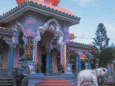 Asia River Cruise - Temple in Chau Doc