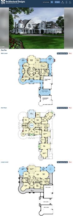 This plan has it all! Every room I can think of. Can't wait to build it.