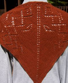 Ravelry: Autumn Cozy (a shawl in cashmere) pattern by Mary C. Gildersleeve