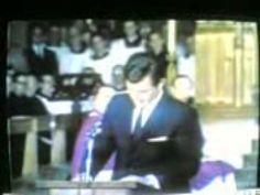 Robert Kennedy Funeral- Eulogy delivered by Senator Edward Kennedy