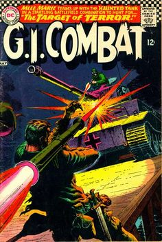 """""""GI Combat"""" Issue 123 by DC Comics."""