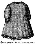 Free Pattern:  1869 Child's Apron