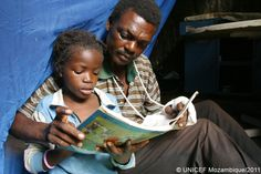 UNICEF Mozambique wishes a Happy Father's Day to all Mozambican fathers.     Today we celebrate Father's Day in Mozambique, it is a celebration honoring fathers and celebrating fatherhood, paternal bonds, and the influence of fathers in childrens lives.