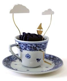 Storm in a Royal Delft Teacup by John Lumbus