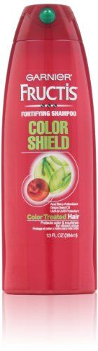 Garnier Fructis Color Shield Shampoo 13Fluid Ounce *** Click image for more details.(It is Amazon affiliate link) #like4like