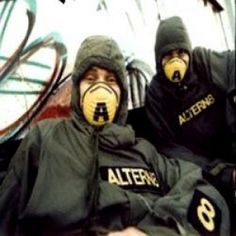 """Altern8- British rave duo, popular in the underground rave scene in the early 90s..To this day I still love the track """"Infiltrate""""- Liza"""