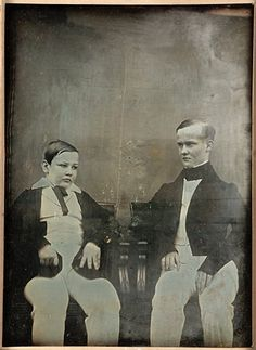 "Unknown, ""Untitled [Two Boys]"" (ca. 1840s) 